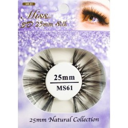 Miss 3D 25mm Silk Lash - MS61