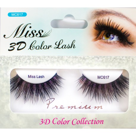 MISS 3D COLOR LASH - MC617