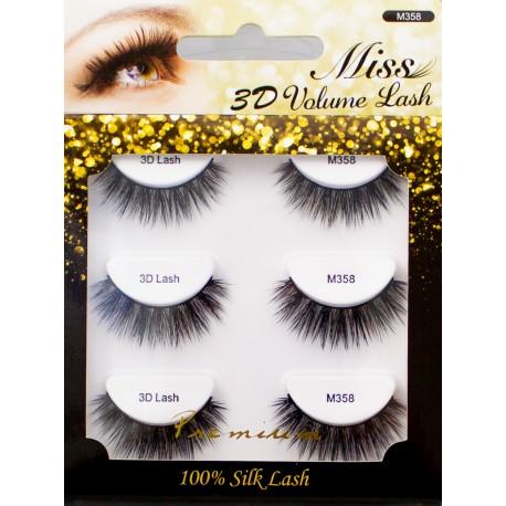 Miss 3D Volume Lash - M358(MULTI)
