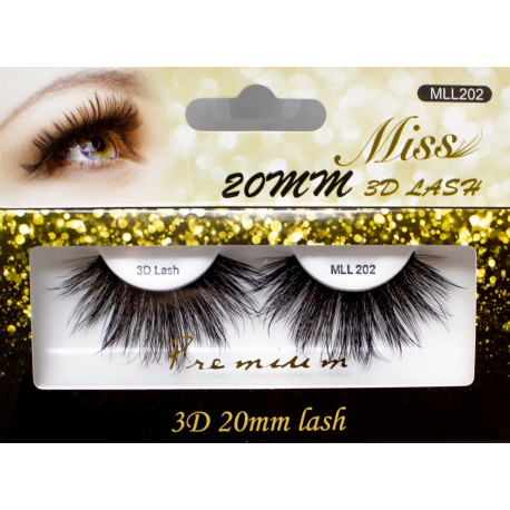 Miss 3D 20mm Lash - MLL202
