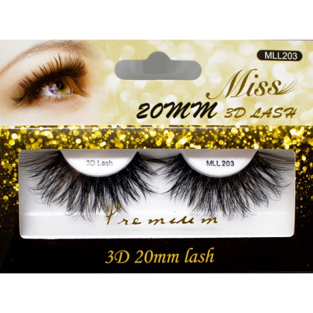 Miss 3D 20mm Lash - MLL203