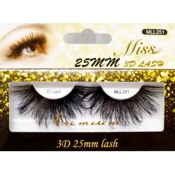 Miss 3D 25mm Lash - MLL251