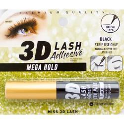 Miss 3D Adhesive Lash - BLACK