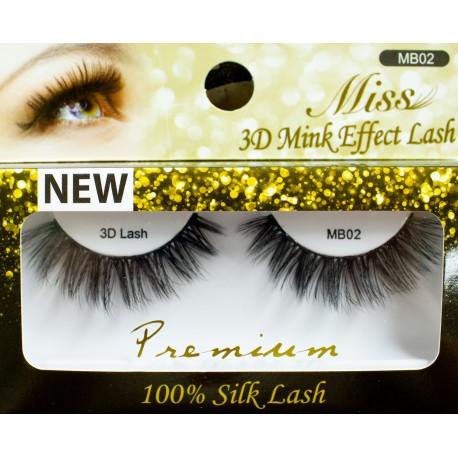 Miss 3D Mink Effect Lash - MB02