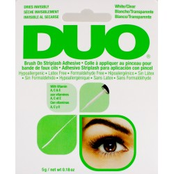 DUO BRUSH ON GLUE CLEAR
