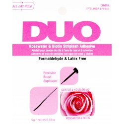 DUO BRUSH GLUE ROSE DARK