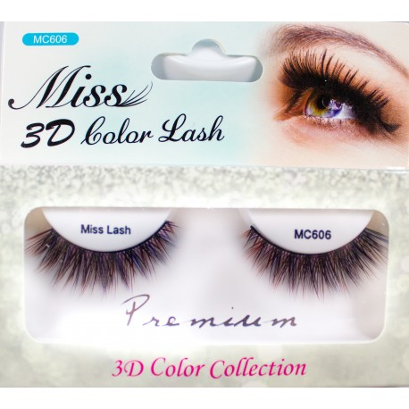 Miss 3D Color Lash - MC606