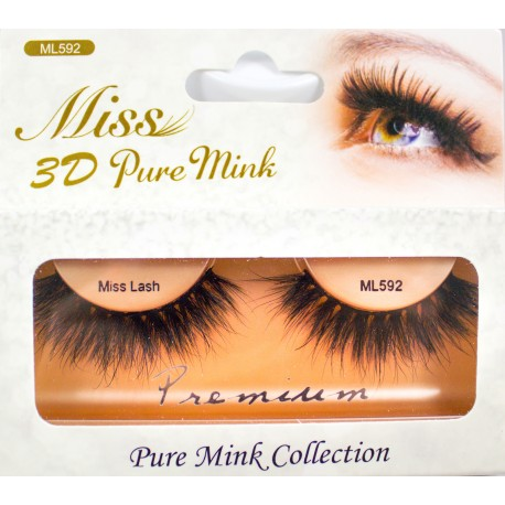 Miss 3D Pure Mink Lash - ML592