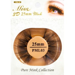 Miss 3D 25mm mink Lash - PML03