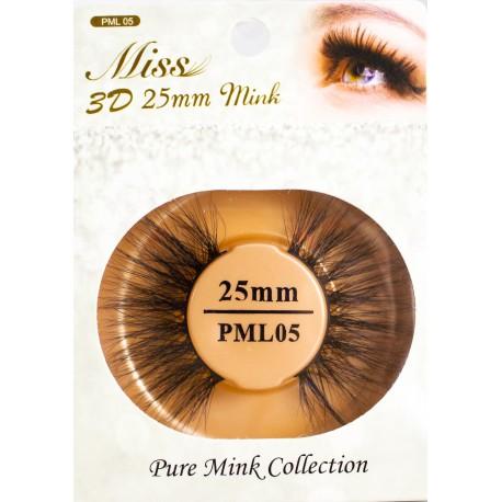 Miss 3D 25mm mink Lash - PML05