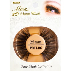 Miss 3D 25mm mink Lash - PML06