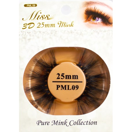 Miss 3D 25mm mink Lash - PML09