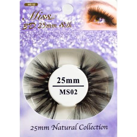 Miss 3D 25mm Silk Lash - MS02