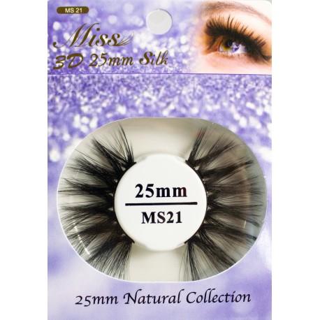 Miss 3D 25mm Silk Lash - MS21