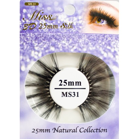 Miss 3D 25mm Silk Lash - MS31