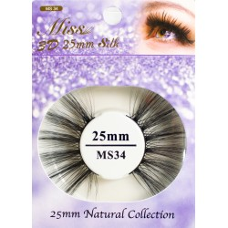 Miss 3D 25mm Silk Lash - MS34