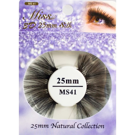 Miss 3D 25mm Silk Lash - MS41