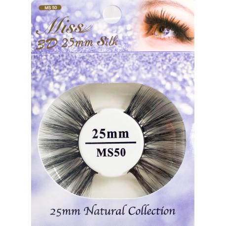 Miss 3D 25mm Silk Lash - MS50