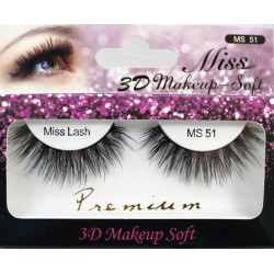 Miss 3D Makeup Soft Lash - MS51
