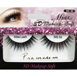 Miss 3D Makeup Soft Lash - MS58
