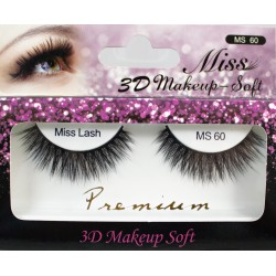 Miss 3D Makeup Soft Lash - MS60