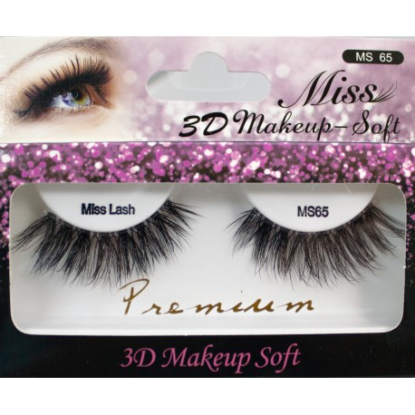 Miss 3D Makeup Soft Lash - MS65